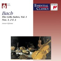 Bach:  Suites for Violoncello, Vol. 1 — Anner Bylsma