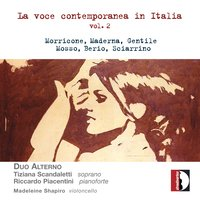 La voce contemporanea in Italia, vol. 2 — Duo Alterno, Madeleine Shapiro