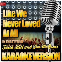 Like We Never Loved At All (In the Style of Faith Hill and Tim Mcgraw) — Ameritz Top Tracks