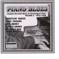 Piano Blues Vol. 6 (1933-1938) — Various Artists - Document Records