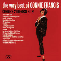 The Very Best Of Connie Francis - Connie 21 Biggest Hits — Connie Francis