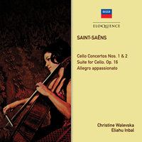 Saint-Saens: Music For Cello & Orchestra — Eliahu Inbal, Orchestre National De L'Opera De Monte Carlo, Christine Walevska