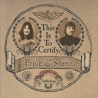 This Is To Certify — Rick Price & Mike Sheridan
