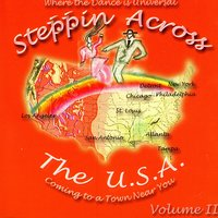 Steppin Across The U.S.A, Volume 2 — Various Artists - Steppin Across The USA