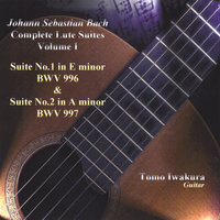 Bach:Complete Lute Suites I — Tomo Iwakura