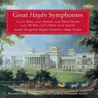 Great Haydn Symphonies: Orchestral Favourites, Vol. XVI — Йозеф Гайдн, Adam Fischer, Austro-Hungarian Haydn Orchestra