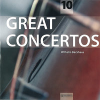 Great Concertos Vol. 10 — Людвиг ван Бетховен, Wilhelm Backhaus