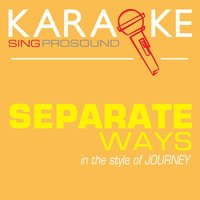 Separate Ways (In the Style of Journey) — Karaoke