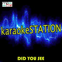 Did You See — Karaoke Station