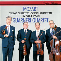 Mozart: String Quartets Nos. 14 & 15 — Guarneri Quartet