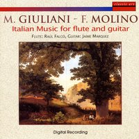 Mauro Giuliani - Francesco Molino: Italian Music For Flute And Guitar — Raul Falco, Jaime Marquez