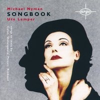 Michael Nyman: Songbook — Michael Nyman, The Michael Nyman Band, Ute Lemper