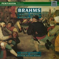Brahms: 21 Hungarian Dances for Piano Four Hands - 16 Waltzes for Two Pianos — Иоганнес Брамс, Oleg Malov, Oxana Issajeva