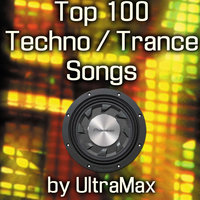 100 Top Techno / Trance Songs (MP3 Data Disc) — UltraMax