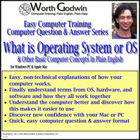 What Is an OS or Operating System & Other Fundamental Computer Concepts Explained in Plain English — Worth Godwin Computer Training