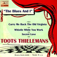 "Vintage Jazz Nº 67 - EPs Collectors, ""The Blues And I"" — Toots Tihelemans"
