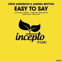 Easy to Say — Andrea Britton, Steve Anderson