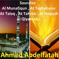 Sourates Al Munafiqun, At Taghabune, At Talaq, At Tahrim, Al Haqqah, Al Qiyamah — Ahmed Abdelfatah