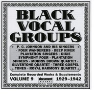 Black Vocal Groups Vol. 9 (1929-1942) — Various Artists - Document Records