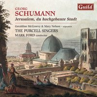Schumann: 3 Chorale-Motets Op. 75 & 5 Chorale-Motets Op. 71 — Mark Ford, Purcell Singers, The Purcell Singers, Georg Schumann