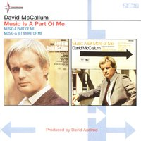 A Part Of Me/A Bit More Of Me — David McCallum
