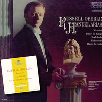 Handel: Arias — Thomas Dunn [Conductor], Russell Oberlin [Counter-Tenor], The Baroque Chamber Orchestra [Orchestra], Thomas Dunn, Russell Oberlin, The Baroque Chamber Orchestra