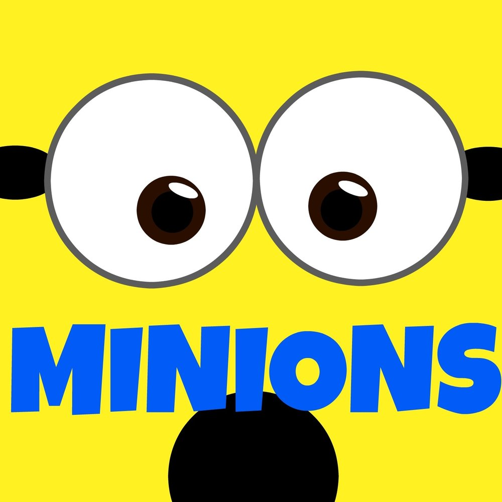 happy minions lyrics - 1000×1000