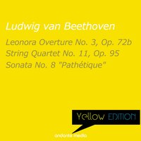 "Yellow Edition - Beethoven: String Quartet No. 11, Op. 95 & Piano Sonata No. 8 ""Pathétique"" — Людвиг ван Бетховен, Dubravka Tomsic, Vladimir Petroschoff, Philharmonic Festival Orchestra"