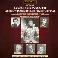 Mozart: Don Giovanni — Erich Kunz, Elisabeth Grümmer, Leopold Simoneau, Sena Jurinac, George London, conducted by Karl Bohm