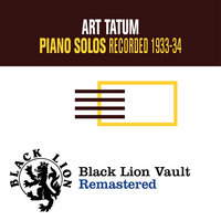 Piano Solos — Art Tatum