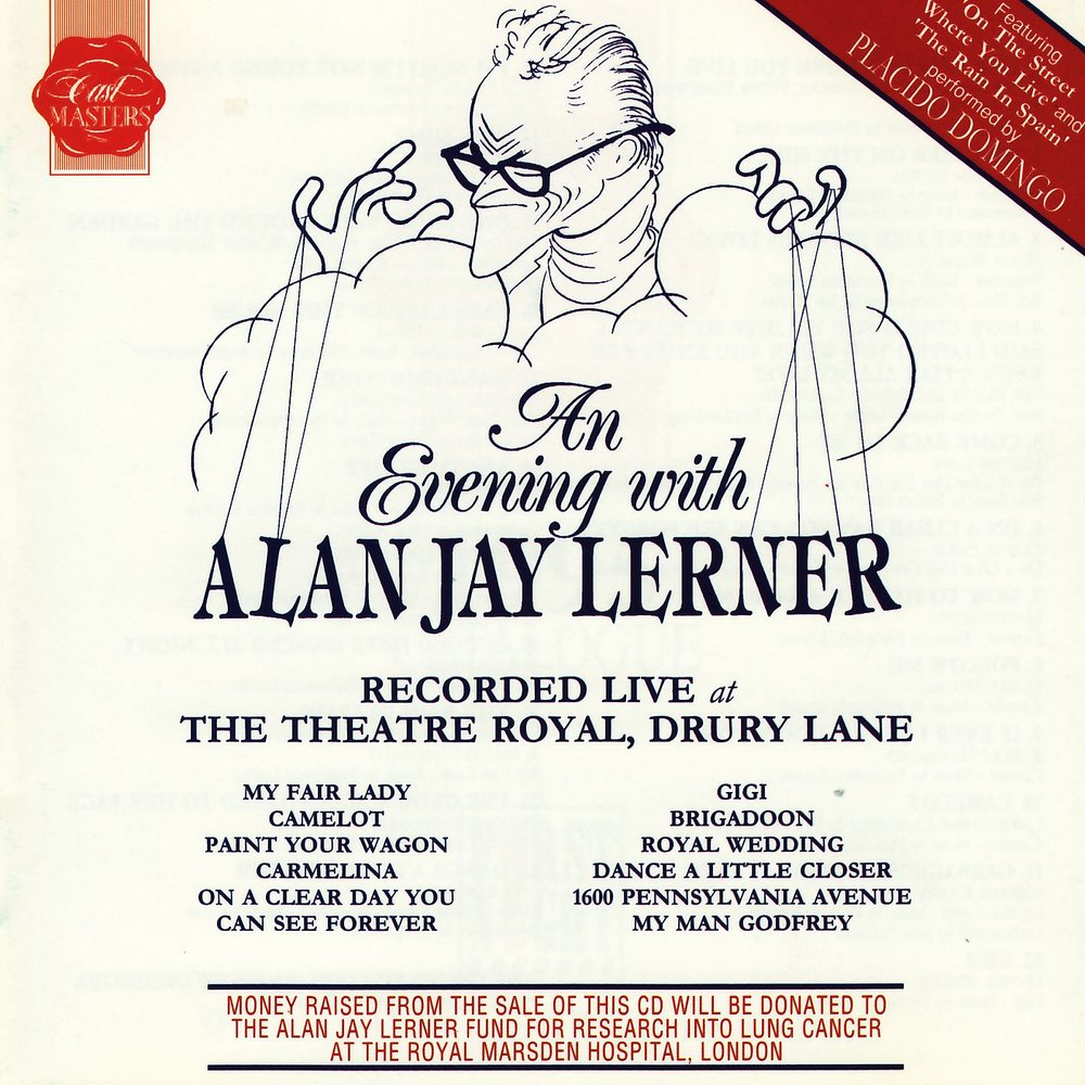 an experience at the live performance of alan jay lerners play brigadoon Playwright/lyricist alan jay lerner was born into a 1947 musical fantasy brigadoon lerner adapted on the street where you live (1956.