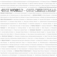 One World - One Christmas — сборник