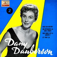 "Vintage French Song Nº 89 - EPs Collectors, ""Face Au Destin"" — Dany Dauberson"