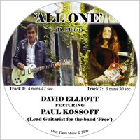 All One CD single featuring Paul Kossoff — David Elliott