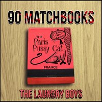 90 Matchbooks — DELI Rowe, The Laundry Boys