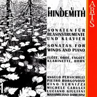 Paul Hindemith: Sonatas For Winds & Piano, Vol. 1 — сборник