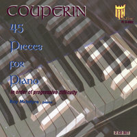 Couperin, 45 Selected Pieces for Piano — Ray McIntyre, Piano