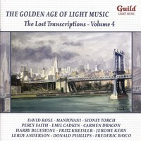 The Golden Age of Light Music: The Lost Transcriptions, Vol. 4 — сборник