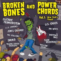 Broken Bones and Power Chords: New York's Finest, Vol. 1 — Electric Frankenstein, U.S. Chaos, Jones Crusher, Yellow Scab, Trauma School Dropouts, The Stallions, The Wives, Snuka, L.E.S. Stitches, The Wretched Ones, Cash Registers