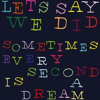 Sometimes Every Second Is a Dream — Let's Say We Did
