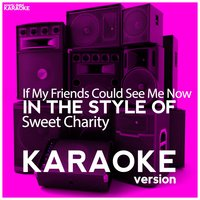 If My Friends Could See Me Now (In the Style of Sweet Charity) - Single — Ameritz Digital Karaoke