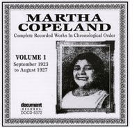 Martha Copeland Vol. 1 (1923-1927) — Martha Copeland