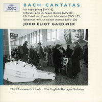 J.S. Bach: Cantatas BWV 83; 82; 125; 200 — English Baroque Soloists, John Eliot Gardiner
