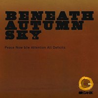 Peace Now / Attention All Deficits - Single — Beneath Autumn Sky
