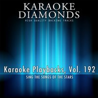 Karaoke Playbacks, Vol. 192 — Karaoke Diamonds