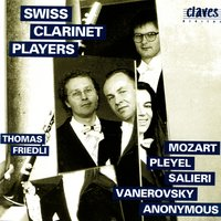 Classical Works for Clarinet Ensemble — Swiss Clarinet Players
