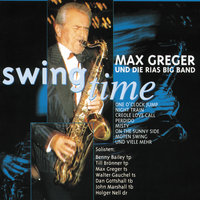 Swing time — Max Greger, Die Max Greger Big Band