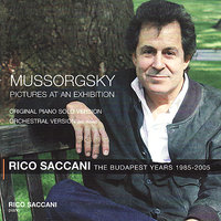 Mussorgsky: Pictures at an Exhibition — Budapest Philharmonic Orchestra, Rico Saccani, Модест Петрович Мусоргский