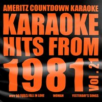 Karaoke Hits from 1981, Vol. 21 — Ameritz Countdown Karaoke