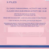 X Files - Single — DJ Dado